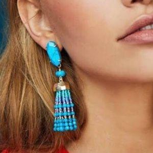New Kendra Scott Beaded Tassel Earrings
